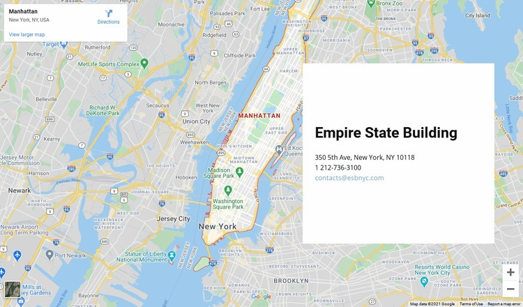 Contact us block with a map on background Html Code