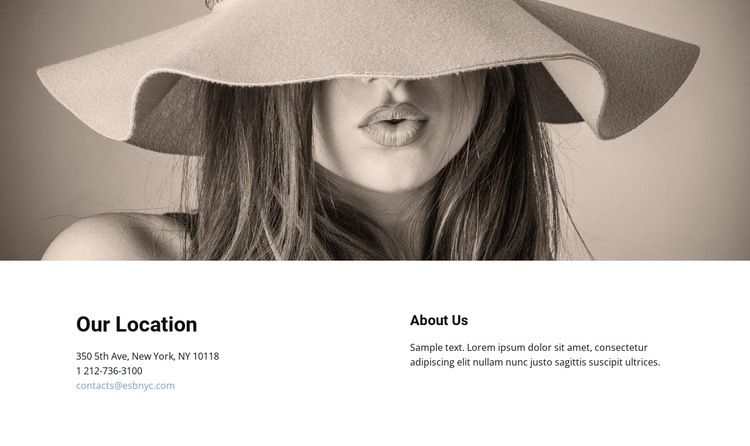Find out the top office locations HTML5 Template
