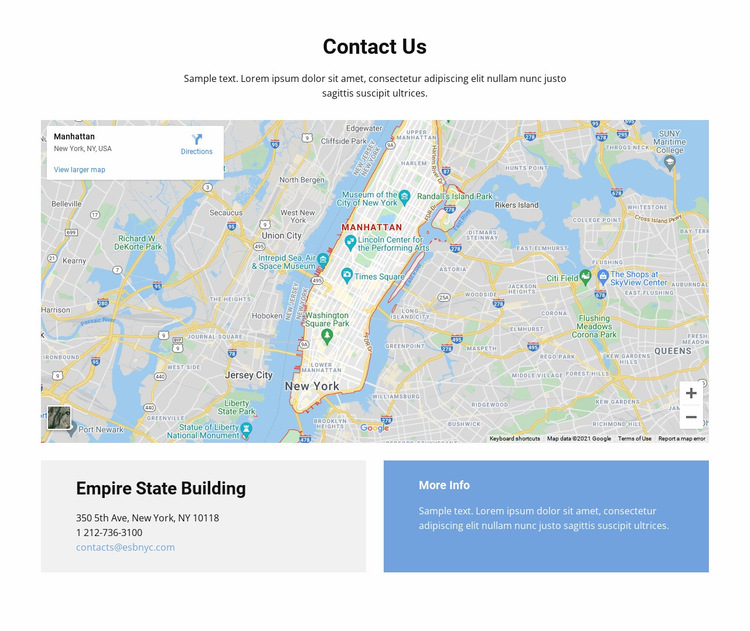 We are all over the world Website Builder Templates