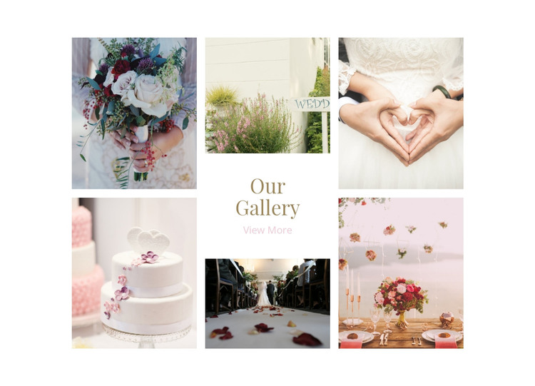 Galerry Wedding Planners HTML Template