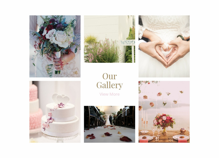 Galerry Wedding Planners Html Website Builder