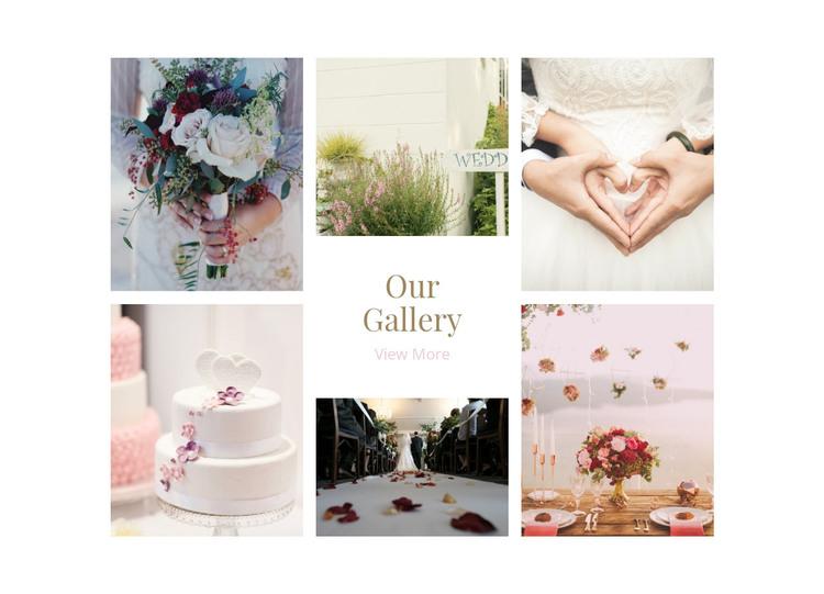 Galerry Wedding Planners Web Design