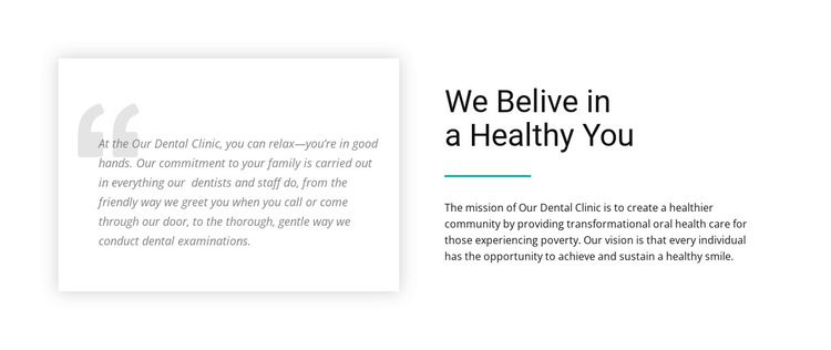 About Our Clinic HTML5 Template