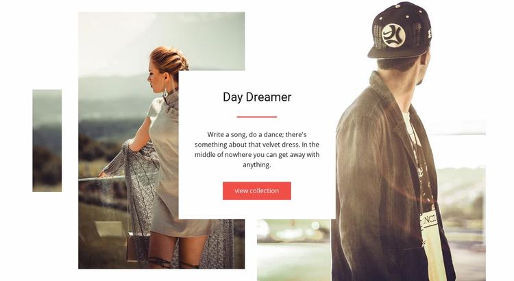 Day Dreamer Website Template