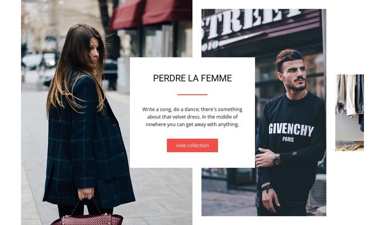 Dress Store HTML Template