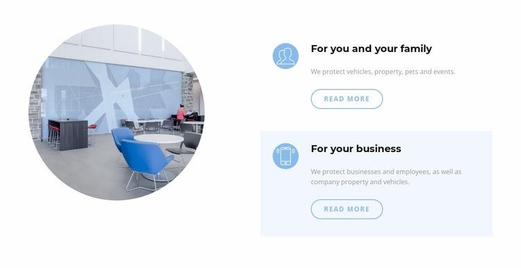 Business office interior Web Page Designer