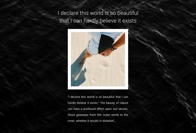 Travel time Web Page Designer