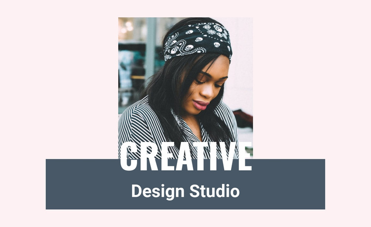 Our creative leader Website Template