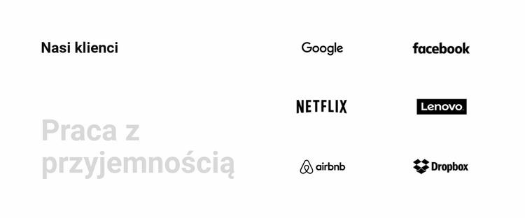 Nasi partnerzy Szablon Joomla