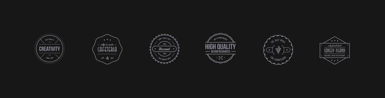 Brands symbol CSS Template