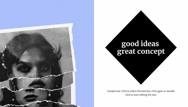 Contemporary art of photography Website Design
