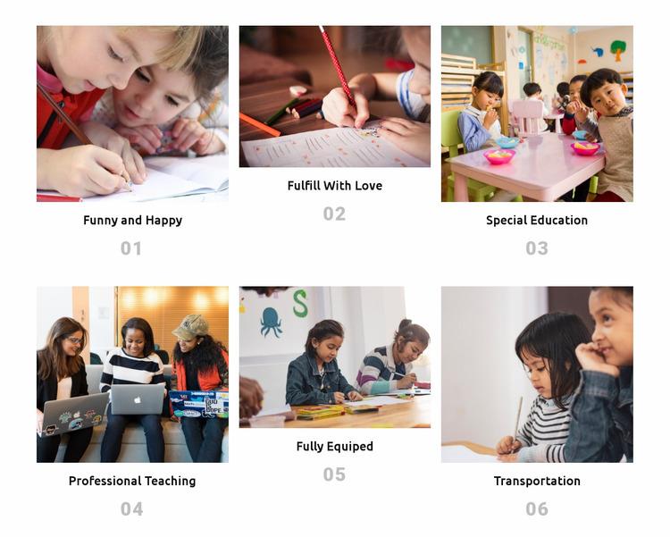 Our plans Website Mockup
