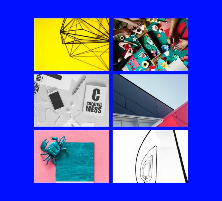 Creativity graphic HTML Template