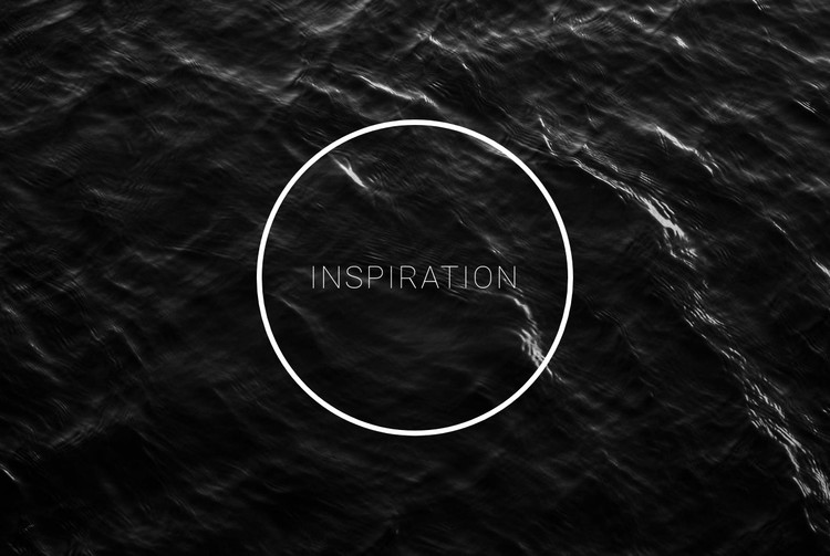 Black and white inspiration CSS Template