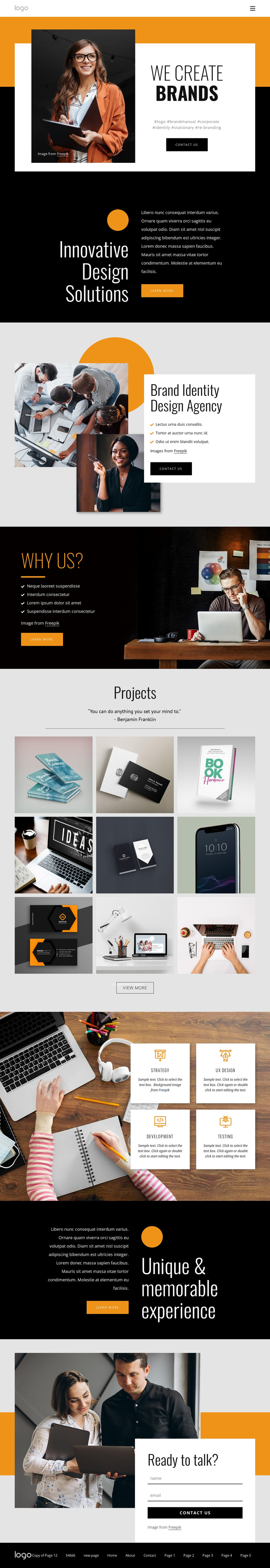 We humanize corporations HTML Template