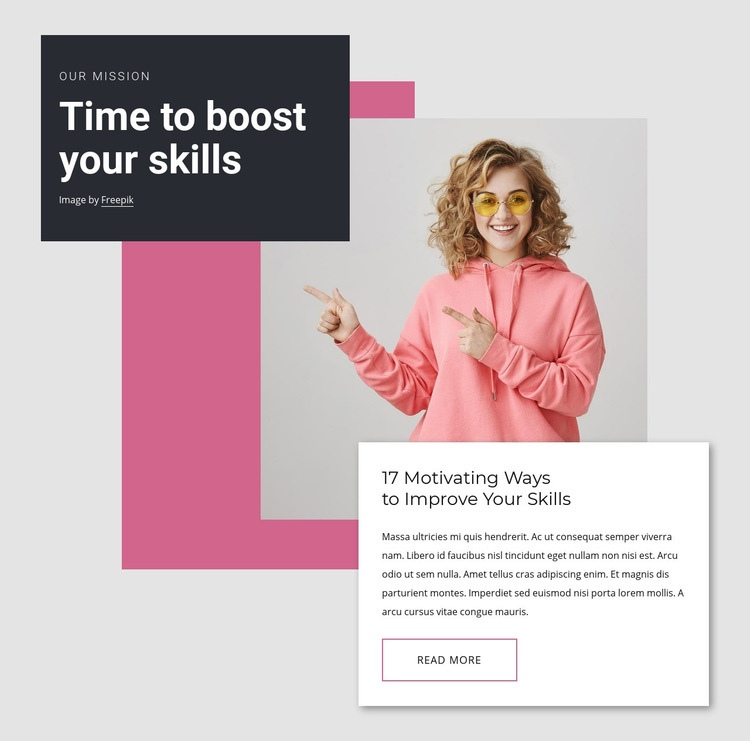 Boost your knowledge Web Page Designer
