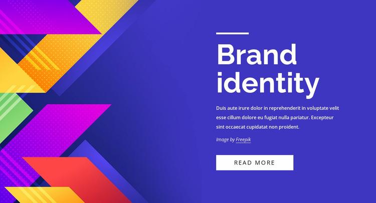 Establishing brand positioning Website Mockup