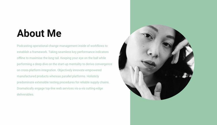 Makeup stylist Website Mockup