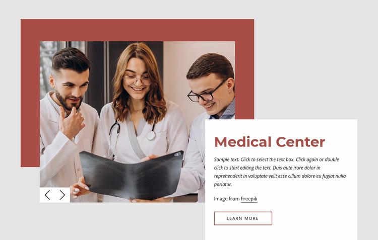International medical center Website Design