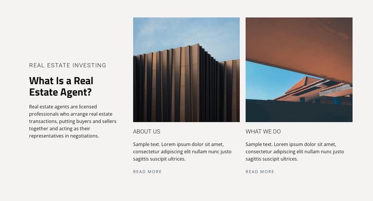 Real estate agent Website Builder Software