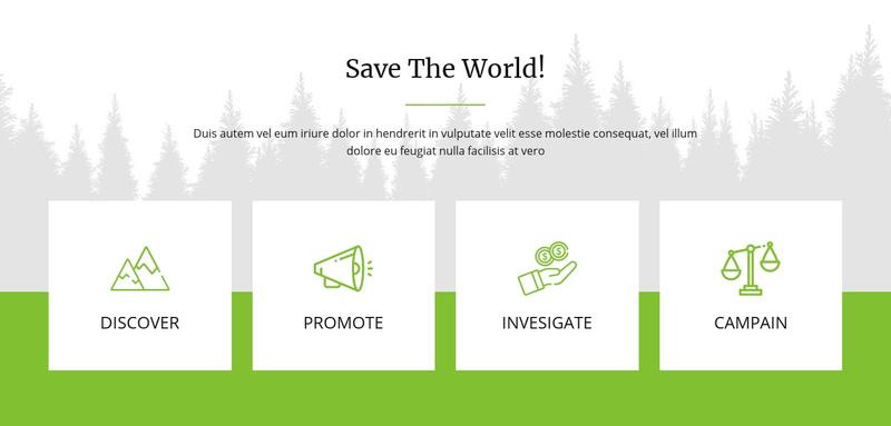 Save The World Website Maker