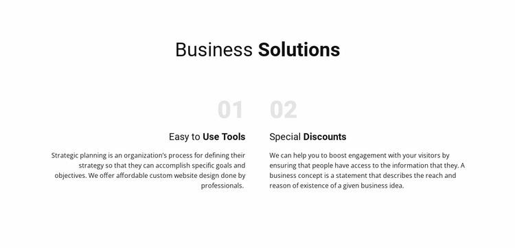 Text Business Solutions WordPress Website Builder
