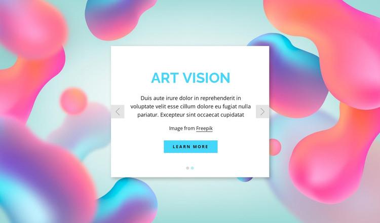 The creative team HTML Template