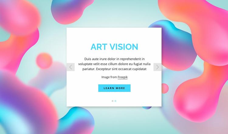 The creative team Website Template