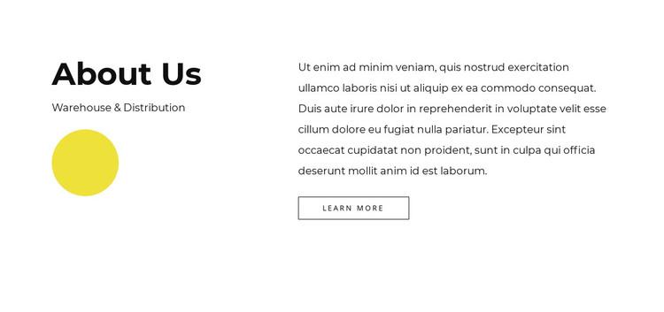Full-service company HTML Template