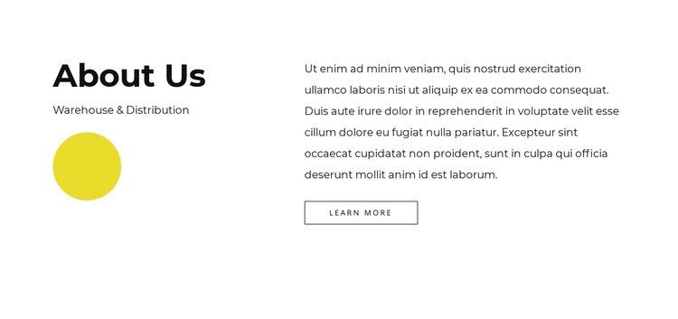 Full-service company Web Page Designer