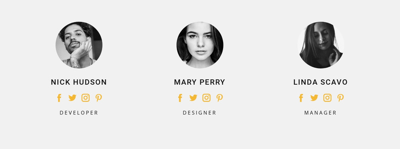 Our business people Web Page Designer