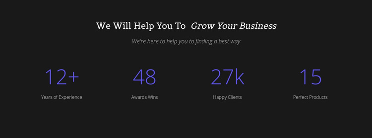 Counter Your Business Template