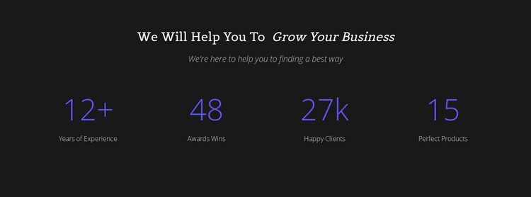 Counter Your Business Website Builder Software