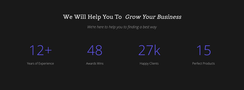 Counter Your Business Website Creator