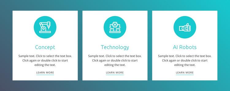 Robotics process automation Web Design