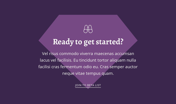 Ready to get started Woocommerce Theme