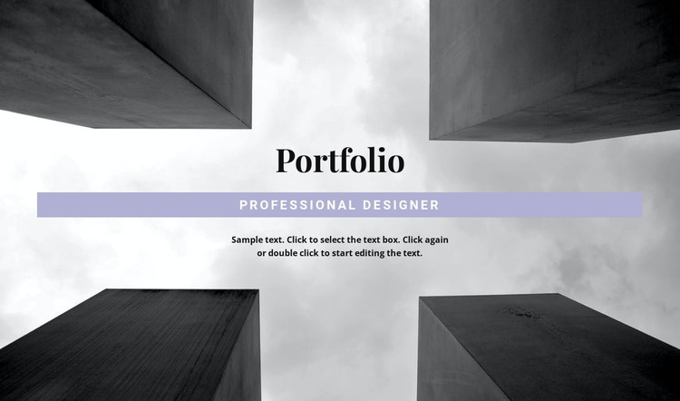 Engineer Portfolio CSS Template