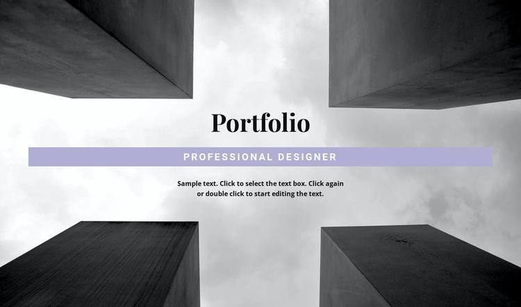 Engineer Portfolio Joomla Template