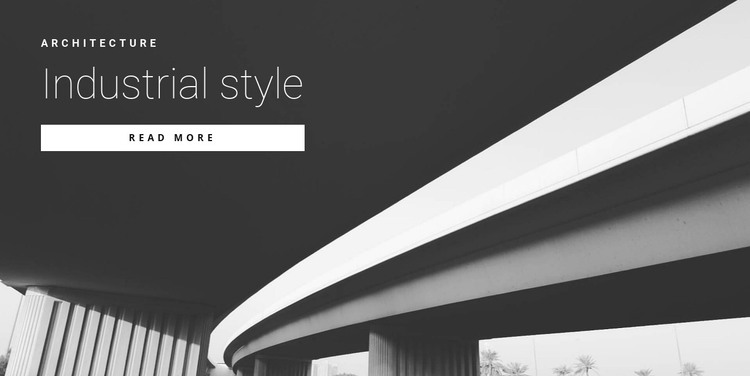 Street style HTML Template