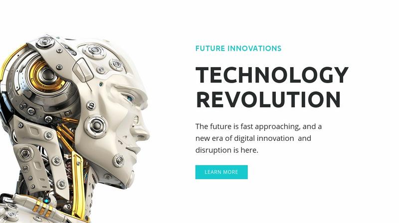 AI revolution Web Page Designer