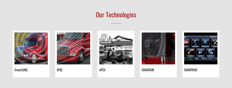 Our technologies Website Maker