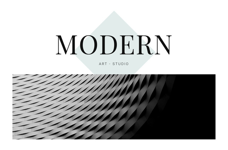 Modern in architecture HTML Template