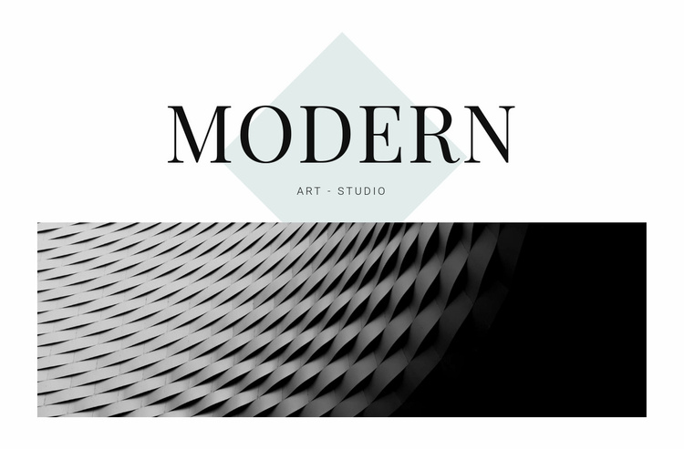 Modern in architecture Website Template