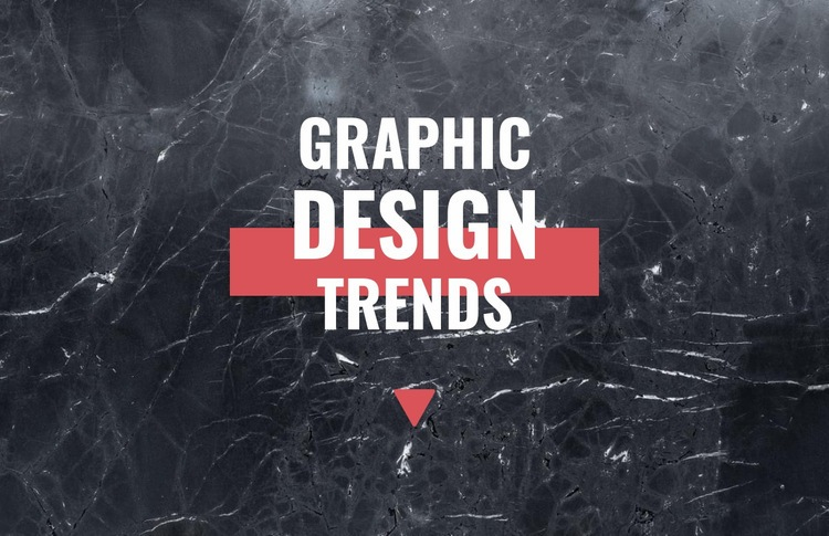 Graphic design trends Html Code Example