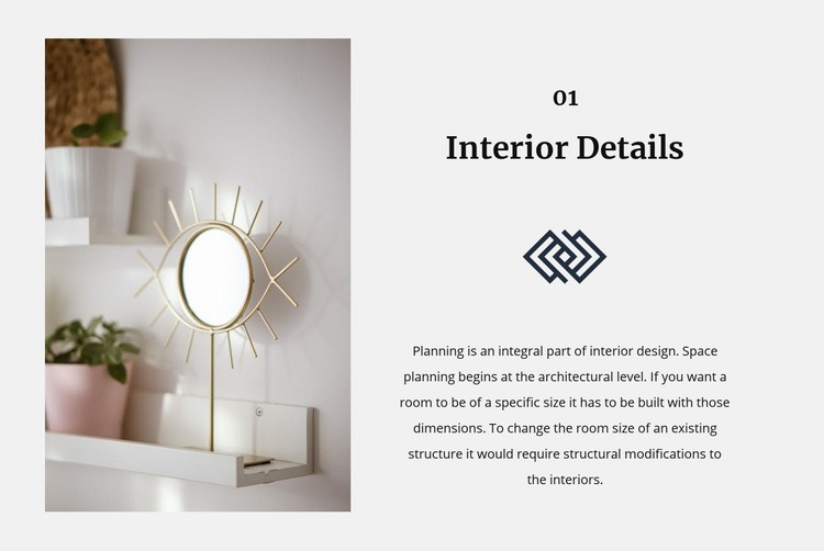 Mirrors in the interior Html Code Example