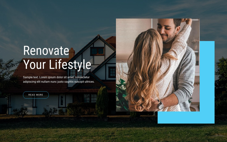 Renovate Your lifestyle HTML Template