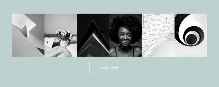 Six-picture gallery Website Design