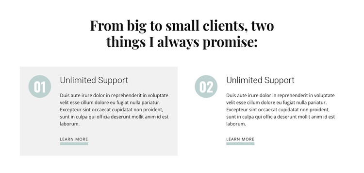 From big to small clients Woocommerce Theme
