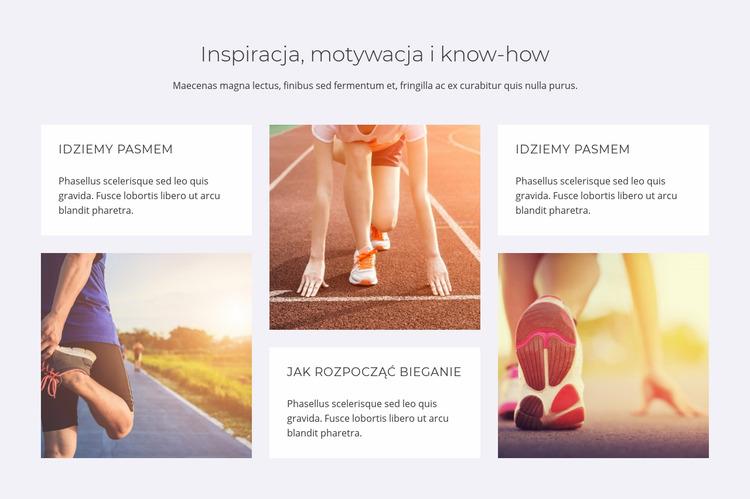 Inspiracja, motywacja i know-how Szablon Joomla