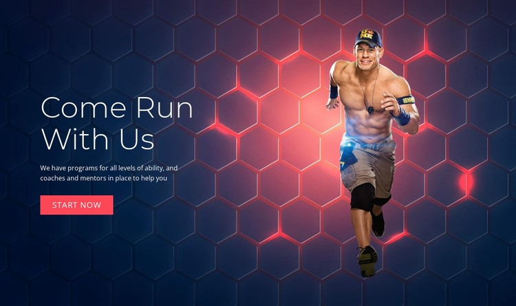 Come Run With Us Static Site Generator